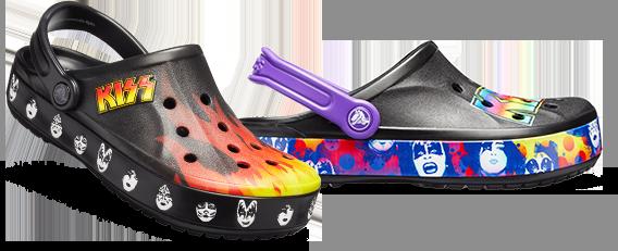 Bayaband KISS Clog Black/Multi, Bayaband KISS II Clog Black/Purple