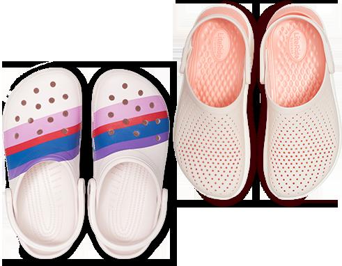 Kids' Crocs Fun Lab Cupcake Clog, Crocband™ Platform Clog
